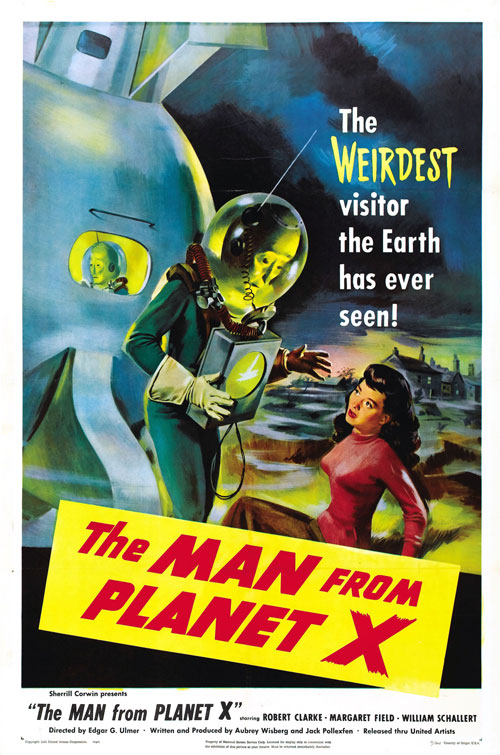 Us poster from the movie The Man from Planet X