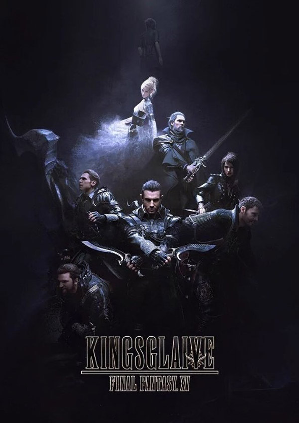 Affiche internationale de 'Kingsglaive: Final Fantasy XV'