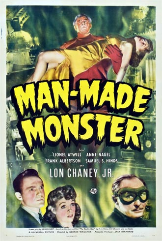 Unknown poster from the movie Man Made Monster