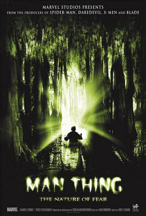 Us poster from the movie Man-Thing