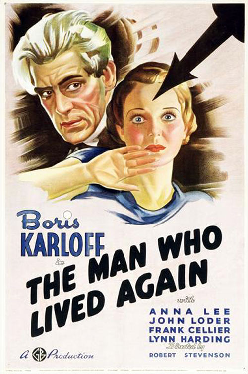 Us poster from the movie The Man Who Changed His Mind