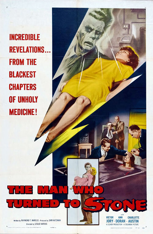 Us poster from the movie The Man Who Turned to Stone