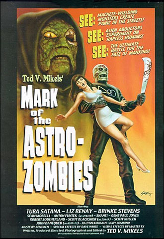 Us poster from the movie Mark of the Astro-Zombies