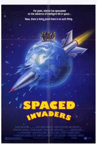 Us poster from the movie Spaced Invaders