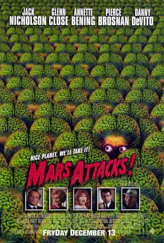 Affiche inconnue de 'Mars Attacks!'