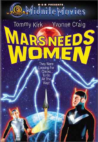Unknown poster from the TV movie Mars Needs Women
