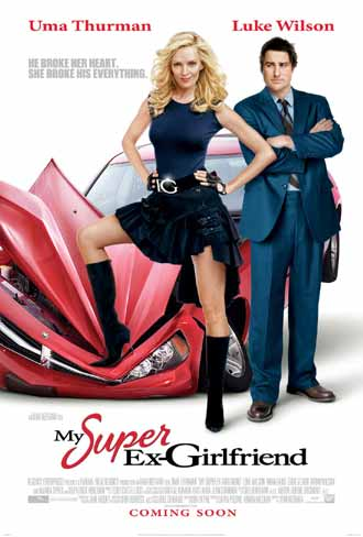 Us poster from the movie My Super Ex-Girlfriend