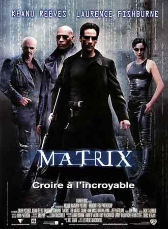 Affiche française du film Matrix (The Matrix)