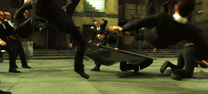 Photo de 'The Matrix Reloaded' - © 2003 Warner Bros. - The Matrix Reloaded (The Matrix Reloaded) - cliquez sur la photo pour la fermer
