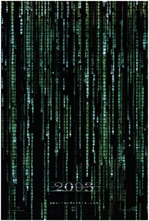 Us poster from the movie The Matrix Reloaded