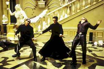 Fighting Neo - The Matrix Reloaded (The Matrix Reloaded)