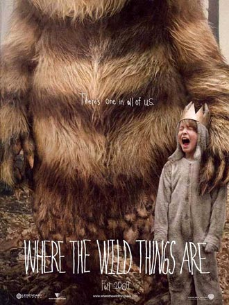 Us poster from the movie Where the Wild Things Are
