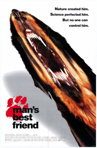Us poster from the movie Man's Best Friend