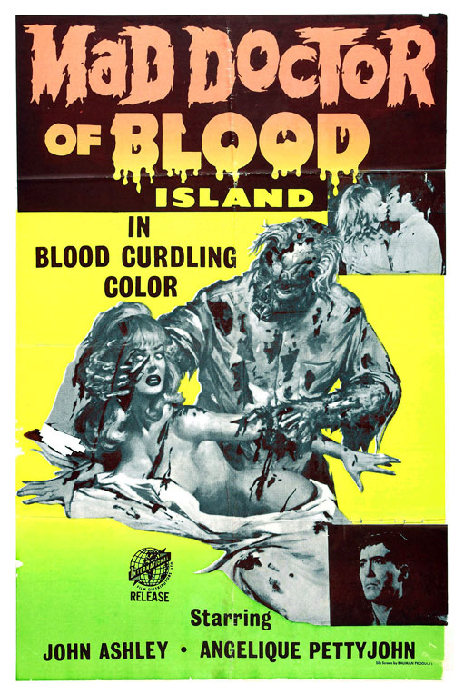 Us poster from the movie Mad Doctor of Blood Island