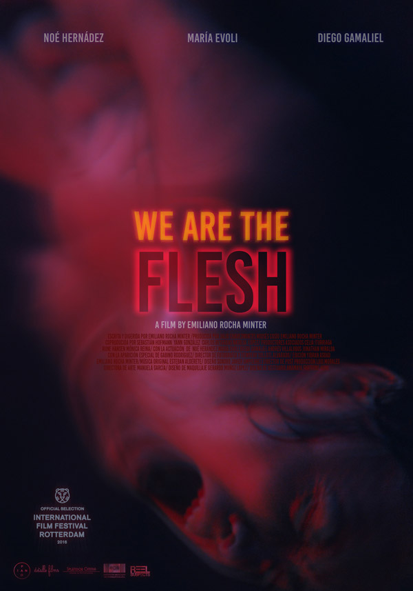 International poster from the movie We are the Flesh (Tenemos la carne)