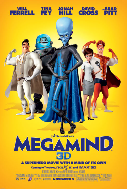Us poster from the movie Megamind