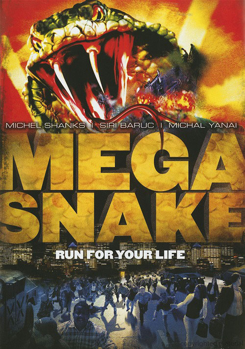 Us poster from the TV movie Mega Snake