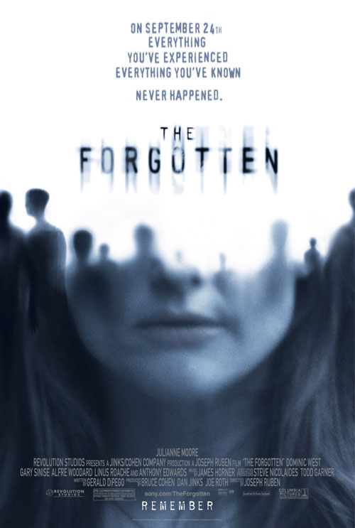 Us poster from the movie The Forgotten