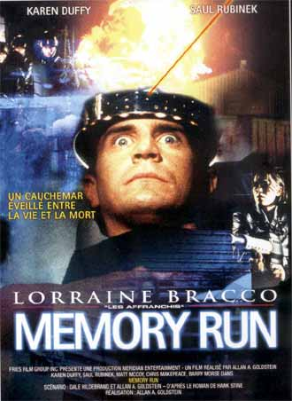 Unknown artwork from the movie Memory Run