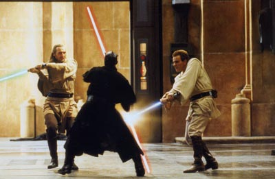 A new confrontation - Star Wars: Episode I - The Phantom Menace