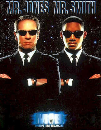 Affiche inconnue de 'Men In Black'