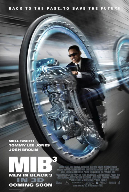 Affiche américaine de 'Men in Black 3'