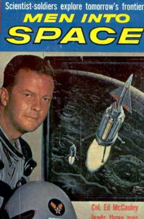 Us poster from the series Men Into Space