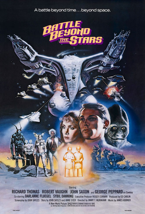Us poster from the movie Battle Beyond the Stars
