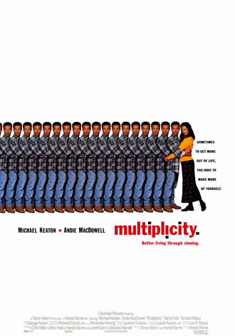 Us poster from the movie Multiplicity