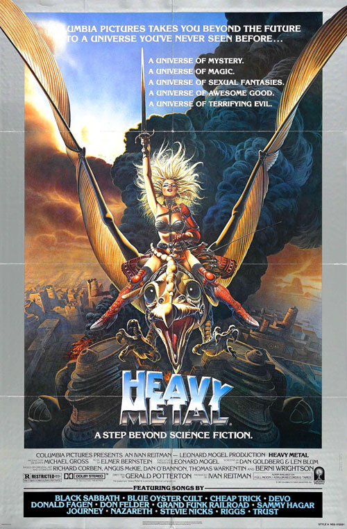 Us poster from the movie Heavy Metal
