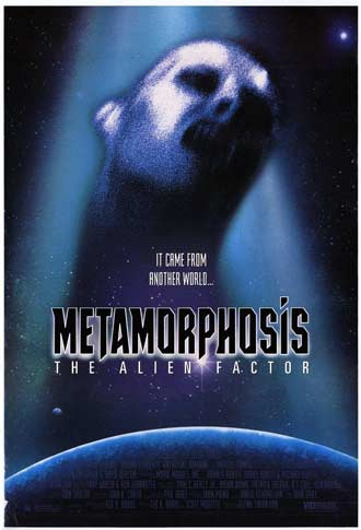 Us poster from the movie Metamorphosis: The Alien Factor