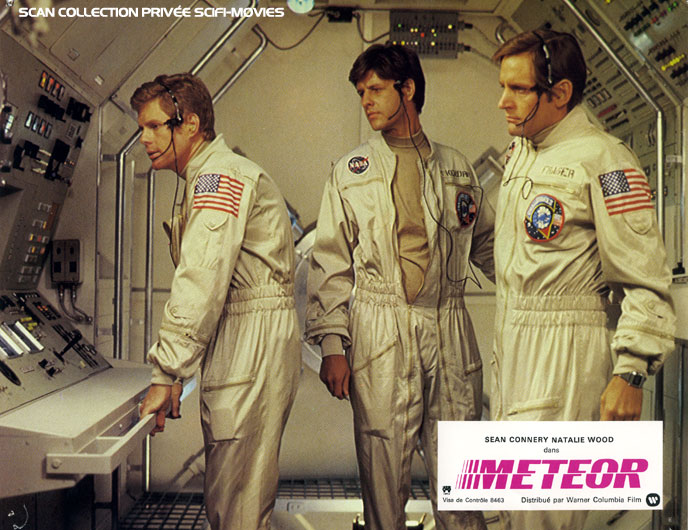 Photo de 'Meteor' - ©1979 Warner Columbia Scan SciFi-Movies - Meteor (Meteor) - cliquez sur la photo pour la fermer