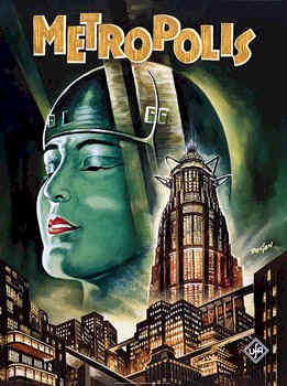 Unknown poster from the movie Metropolis