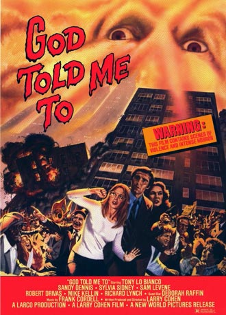 Us poster from the movie God Told Me To