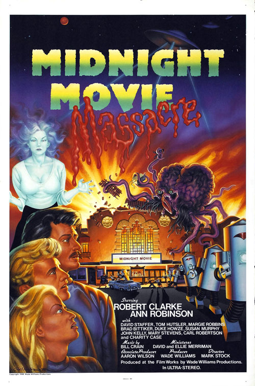 Us poster from the movie Midnight Movie Massacre