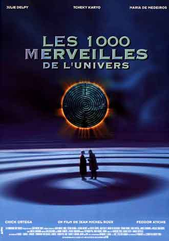 French poster from the movie The Thousand Wonders of the Universe (Les mille merveilles de l'univers)