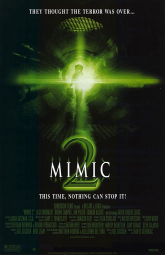 Us poster from the movie Mimic 2
