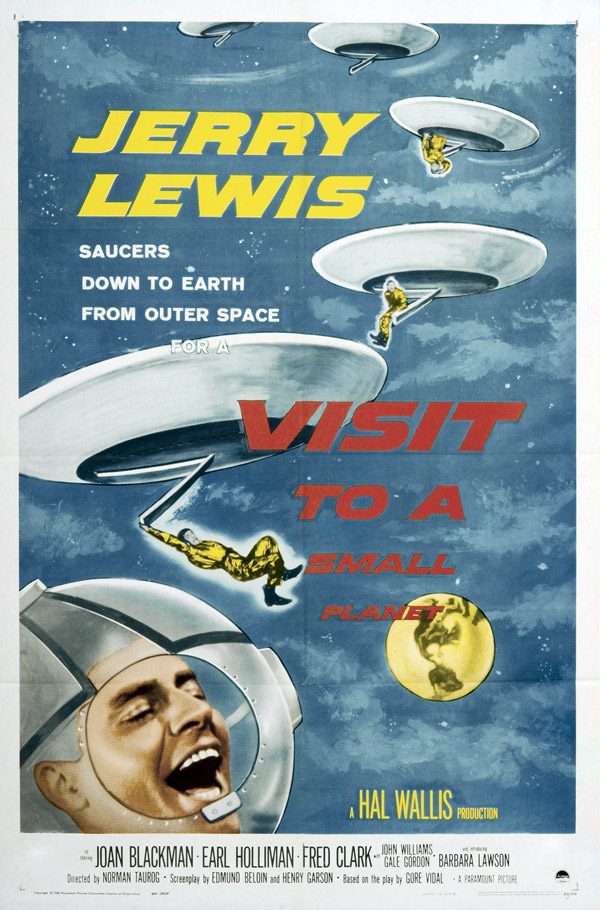 Us poster from the movie Visit to a Small Planet