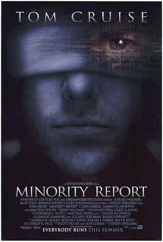 Us poster from the movie Minority Report
