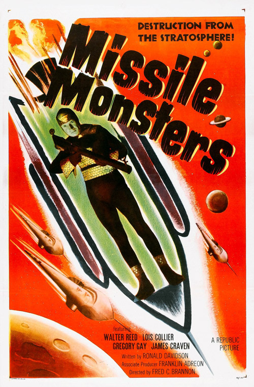 Us poster from the movie Missile Monsters