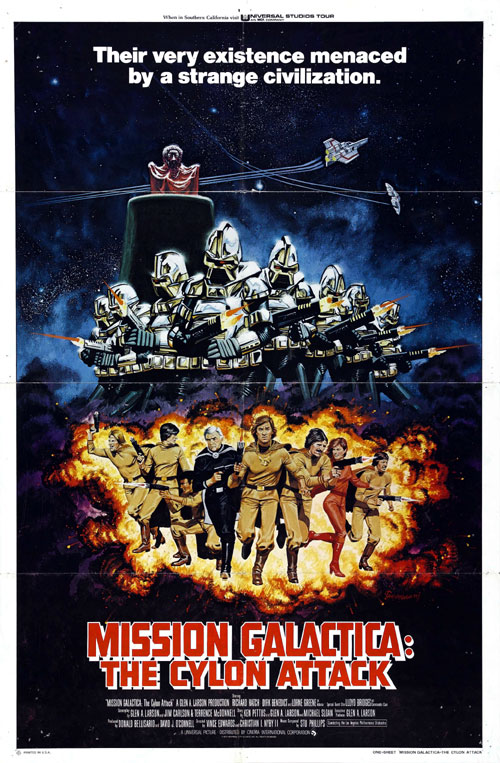 Us poster from the TV movie Mission Galactica: The Cylon Attack