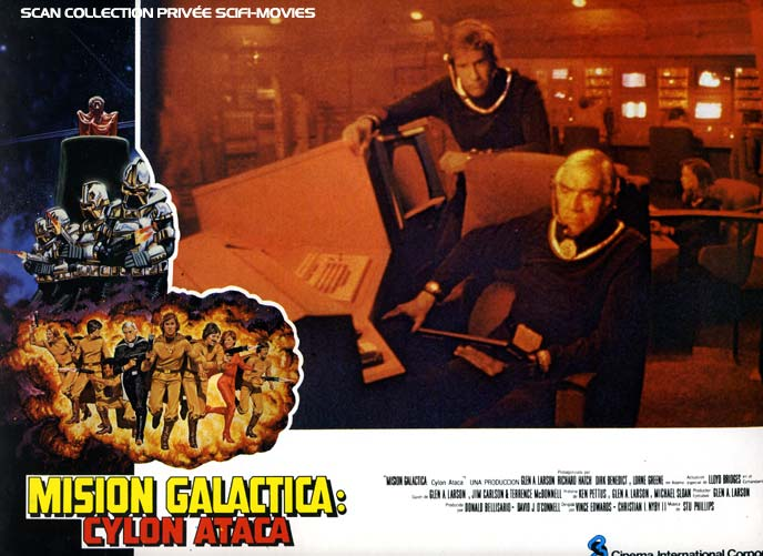 Photo de 'Mission Galactica : les Cylons attaquent' - Scan Scifi-Movies - Mission Galactica : les Cylons attaquent (Mission Galactica: The Cylon Attack) - cliquez sur la photo pour la fermer