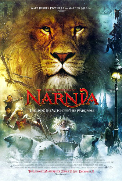 Us poster from the movie The Chronicles of Narnia: The Lion, the Witch and the Wardrobe