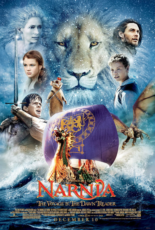 Us poster from the movie The Chronicles of Narnia: The Voyage of the Dawn Treader