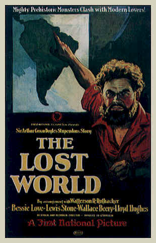 Unknown poster from the movie The Lost World