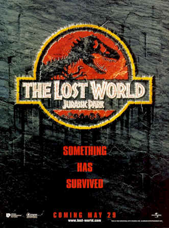 Us poster from the movie The Lost World: Jurassic Park