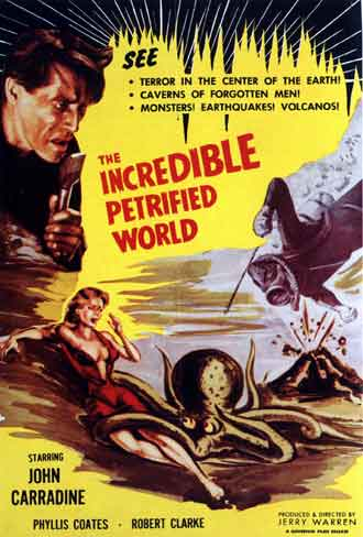 Unknown poster from the movie The Incredible Petrified World