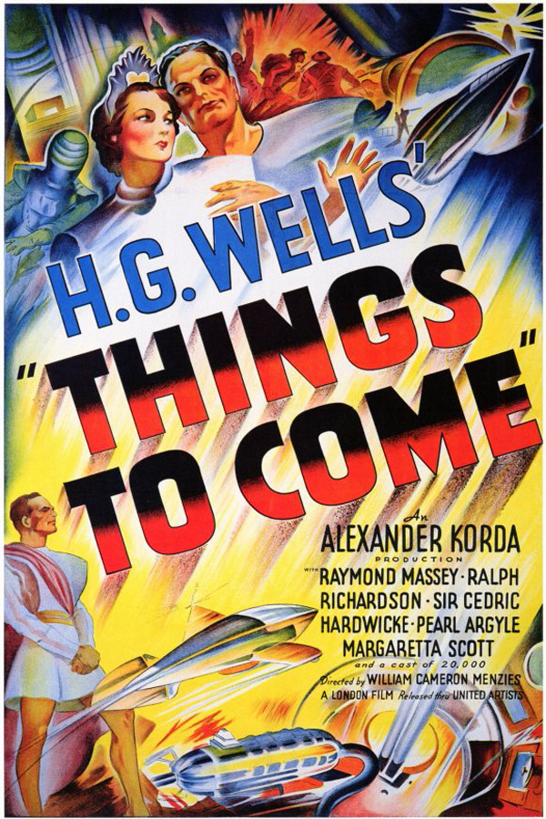 Us poster from the movie Things to Come