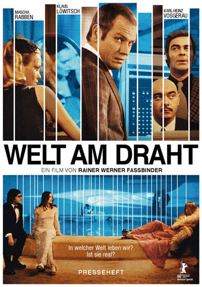 German poster from the TV movie World on Wires (Welt am Draht)
