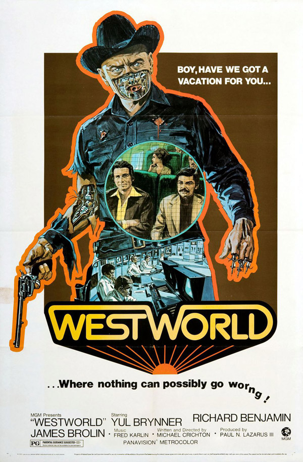 Us poster from the movie Westworld